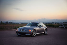 2001 BMW Z3 Coupe in Sterling Gray over Black