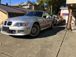 2000 BMW Z3 Coupe in Titanium Silver Metallic over Extended Black
