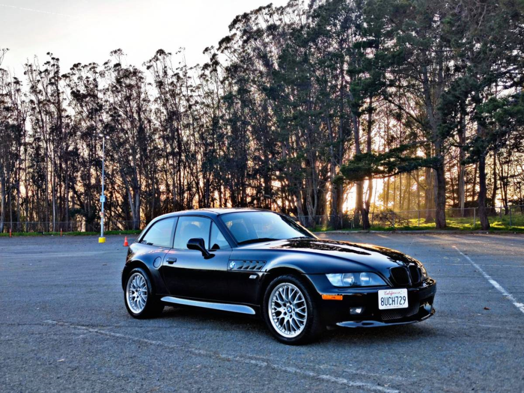 2001 BMW Z3 Coupe in Jet Black 2 over Black