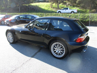 2001 BMW Z3 Coupe in Jet Black 2 over Extended Walnut