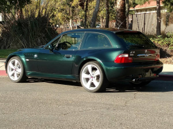 2001 BMW Z3 Coupe in Oxford Green Metallic over E36 Sand Beige
