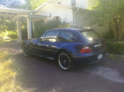 2001 BMW Z3 Coupe in Other over Black