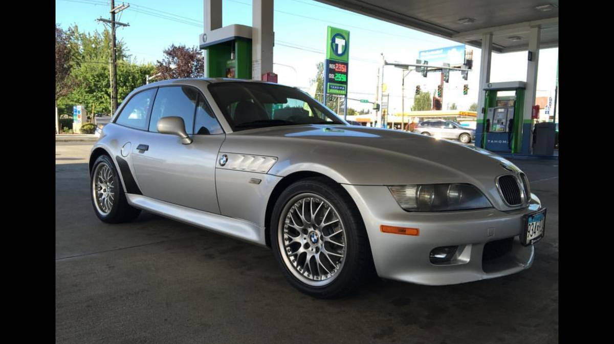 2001 BMW Z3 Coupe in Titanium Silver Metallic over Other
