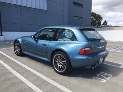 2002 BMW Z3 Coupe in Atlanta Blue Metallic over E36 Sand Beige