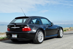 2002 BMW Z3 Coupe in Black Sapphire Metallic over Black