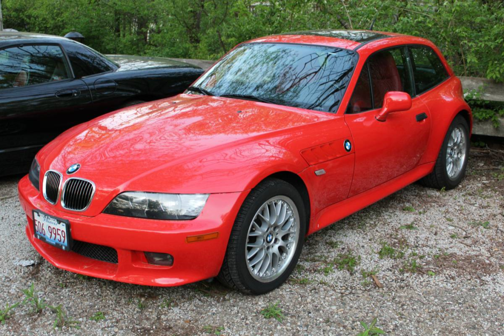 2002 BMW Z3 Coupe in Hell Red 2 over Dream Red