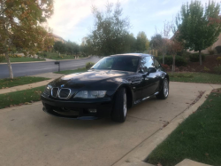 2002 BMW Z3 Coupe in Black Sapphire Metallic over Dream Red