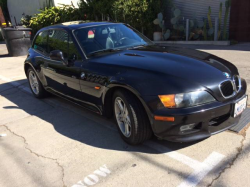1999 BMW Z3 Coupe in Cosmos Black Metallic over Black