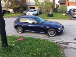 1999 BMW Z3 Coupe in Montreal Blue Metallic over E36 Sand Beige