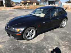 1999 BMW Z3 Coupe in Cosmos Black Metallic over E36 Sand Beige