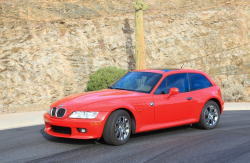 1999 BMW Z3 Coupe in Hell Red over E36 Sand Beige