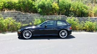 1999 BMW Z3 Coupe in Jet Black 2 over Black