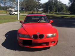 2000 BMW Z3 Coupe in Hell Red over E36 Sand Beige