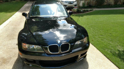 2000 BMW Z3 Coupe in Jet Black 2 over E36 Sand Beige