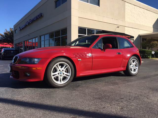 2000 BMW Z3 Coupe in Imola Red 2 over Black