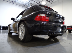 2000 BMW Z3 Coupe in Cosmos Black Metallic over Tanin Red