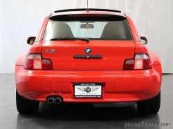 2000 BMW Z3 Coupe in Hell Red 2 over Walnut