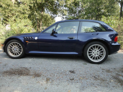 1999 BMW Z3 Coupe in Montreal Blue Metallic over Extended Beige