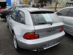 1999 BMW Z3 Coupe in Arctic Silver Metallic over Tanin Red