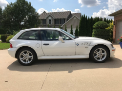2000 BMW Z3 Coupe in Alpine White 3 over Black