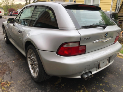2001 BMW Z3 Coupe in Titanium Silver Metallic over Tanin Red