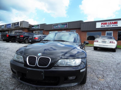 2001 BMW Z3 Coupe in Black Sapphire Metallic over Dream Red