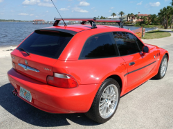 2001 BMW Z3 Coupe in Hell Red 2 over Black