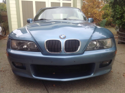 2001 BMW Z3 Coupe in Atlanta Blue Metallic over Extended Beige
