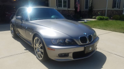 2001 BMW Z3 Coupe in Sterling Gray Metallic over Black