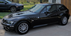 2001 BMW Z3 Coupe in Black Sapphire Metallic over Extended Black