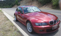 2002 BMW Z3 Coupe in Siena Red 2 Metallic over Extended Beige