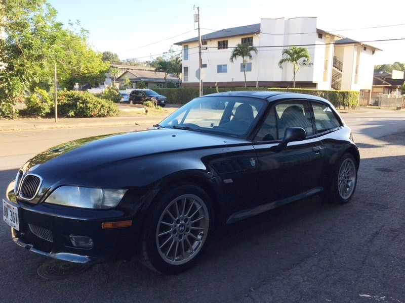 2001 BMW Z3 Coupe in Jet Black 2 over Extended Black