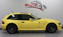 2001 BMW Z3 Coupe in Dakar Yellow 2 over Black