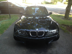 2001 BMW Z3 Coupe in Jet Black 2 over Walnut