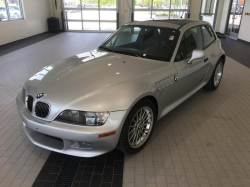 2001 BMW Z3 Coupe in Titanium Silver Metallic over Black