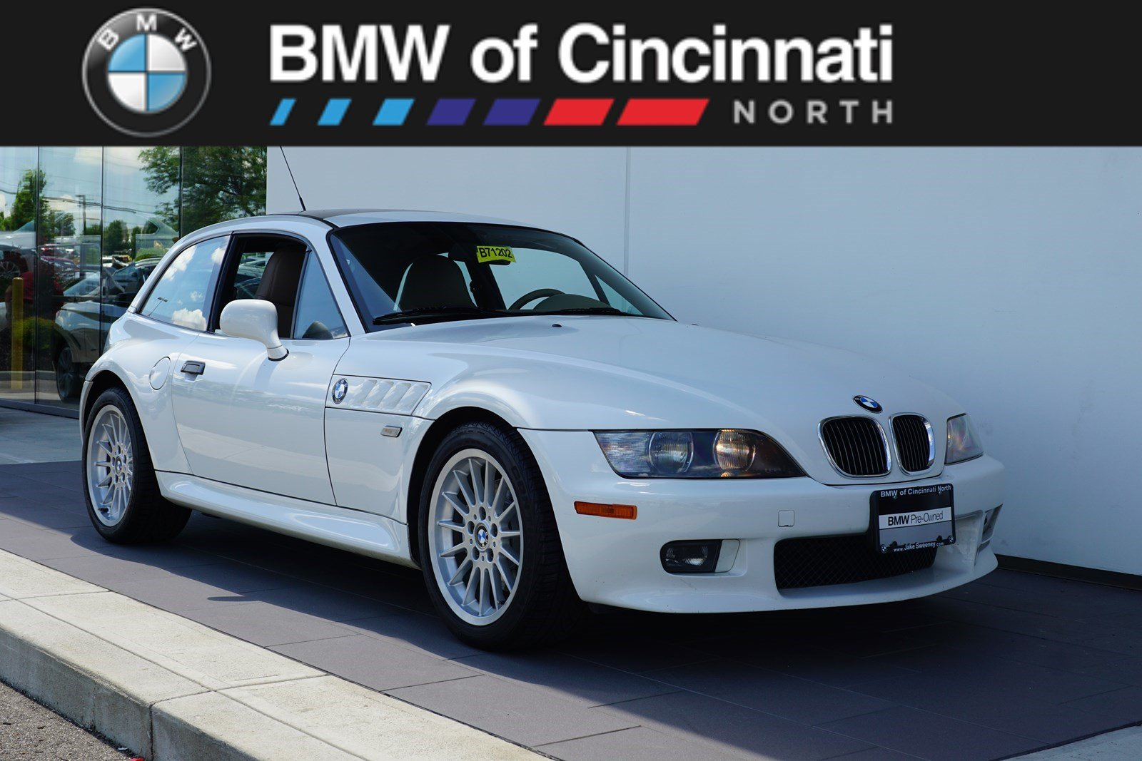 2001 BMW Z3 Coupe in Alpine White 3 over Extended Beige