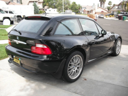 2001 BMW Z3 Coupe in Black Sapphire Metallic over Black
