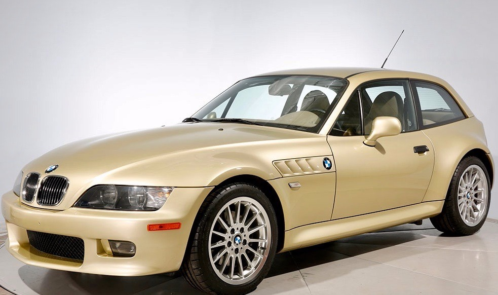 2001 BMW Z3 Coupe in Pistachio Green Metallic over E36 Sand Beige