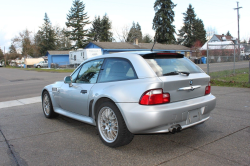 2001 BMW Z3 Coupe in Titanium Silver Metallic over Extended Black