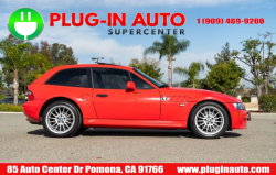 2002 BMW Z3 Coupe in Hell Red 2 over E36 Sand Beige